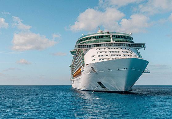 Het cruiseschip als voorbeeld